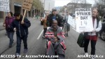62  AHA MEDIA supports Homeless Dave Hunger Strike to City Hall in Vancouver