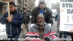 63  AHA MEDIA supports Homeless Dave Hunger Strike to City Hall in Vancouver
