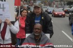 64  AHA MEDIA supports Homeless Dave Hunger Strike to City Hall in Vancouver