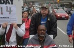 65  AHA MEDIA supports Homeless Dave Hunger Strike to City Hall in Vancouver