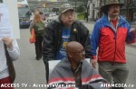 68  AHA MEDIA supports Homeless Dave Hunger Strike to City Hall in Vancouver