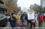 75  AHA MEDIA supports Homeless Dave Hunger Strike to City Hall in Vancouver