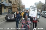 79  AHA MEDIA supports Homeless Dave Hunger Strike to City Hall in Vancouver