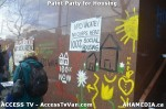 80 AHA MEDIA  and ACCESS TV films Paint Party for Housing in Vancouver