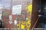 81 AHA MEDIA  and ACCESS TV films Paint Party for Housing inVancouver