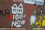 83 AHA MEDIA  and ACCESS TV films Paint Party for Housing in Vancouver