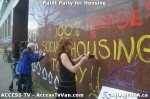 85 AHA MEDIA  and ACCESS TV films Paint Party for Housing inVancouver