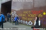 91 AHA MEDIA  and ACCESS TV films Paint Party for Housing inVancouver