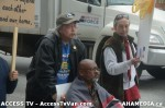 91  AHA MEDIA supports Homeless Dave Hunger Strike to City Hall in Vancouver