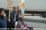 92  AHA MEDIA supports Homeless Dave Hunger Strike to City Hall in Vancouver