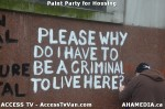 93 AHA MEDIA  and ACCESS TV films Paint Party for Housing inVancouver
