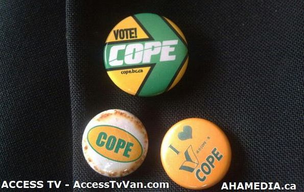 Cope Buttons by AHA MEDIA and ACCESS TV
