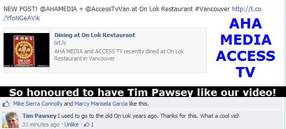 Tim Pawsey,Hired Belly likes our On Lok video