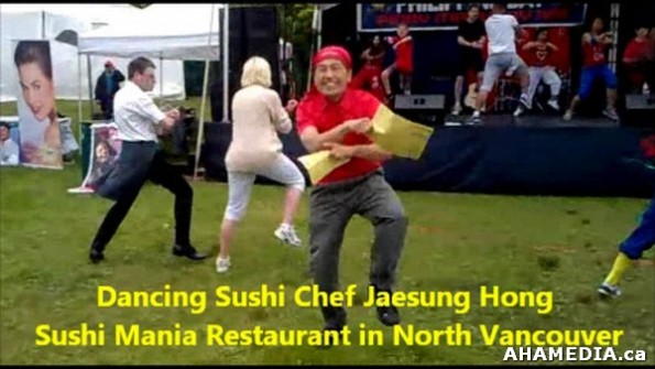1 AHA MEDIA sees Dancing Sushi Chef Jaesung Hong