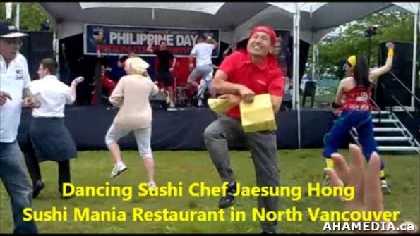 2 AHA MEDIA sees Dancing Sushi Chef Jaesung Hong