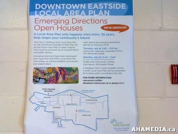 3 AHA MEDIA at DTES LAP Open House in Strathcona, Vancouver