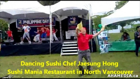 3 AHA MEDIA sees Dancing Sushi Chef Jaesung Hong