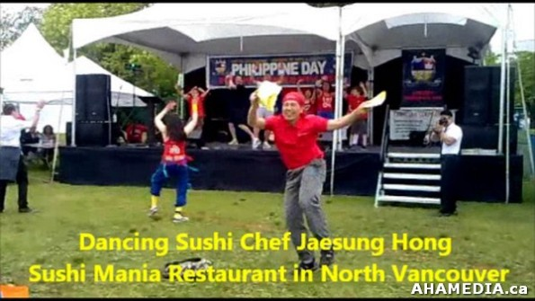 4 AHA MEDIA sees Dancing Sushi Chef Jaesung Hong