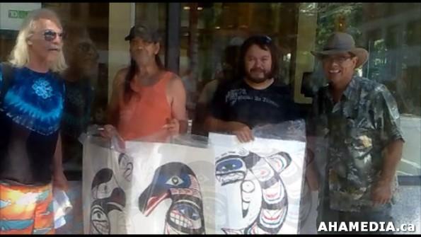 5 AHA MEDIA meets David Morrison and Matthew James in Vancouver DTES