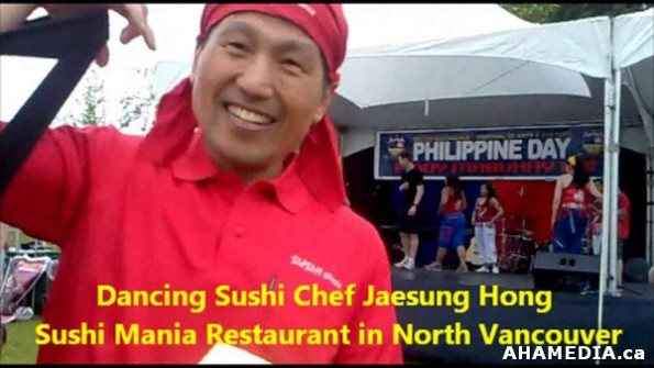 5 AHA MEDIA sees Dancing Sushi Chef Jaesung Hong