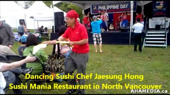 6 AHA MEDIA sees Dancing Sushi Chef Jaesung Hong