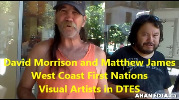 7 AHA MEDIA meets David Morrison and Matthew James in Vancouver DTES