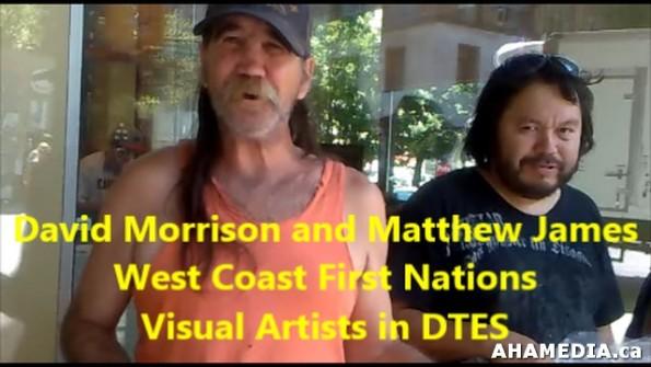 7 AHA MEDIA meets David Morrison and Matthew James in Vancouver DTES