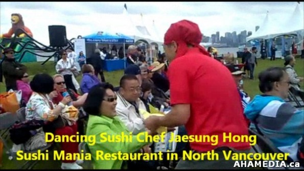 7 AHA MEDIA sees Dancing Sushi Chef Jaesung Hong