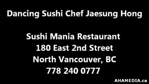 8 AHA MEDIA sees Dancing Sushi Chef Jaesung Hong