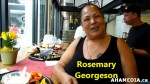 1 AHA MEDIA meets Rosemary Georgeson, Fry Bread Bannock Caterer inVancouver