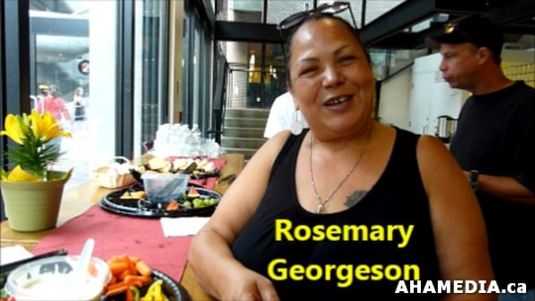 1 AHA MEDIA meets Rosemary Georgeson, Fry Bread Bannock Caterer in Vancouver