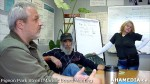 2 AHA MEDIA at Pigeon Park Street Market Board Meeting in Vancouver DTES