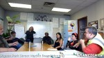 3 AHA MEDIA at Pigeon Park Street Market Board Meeting in Vancouver DTES