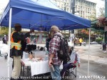 33 AHA MEDIA at Pigeon Park Street Market on Sun Sept 14, 2013 in Vancouver DTES