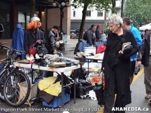 35 AHA MEDIA at Pigeon Park Street Market on Sun Sept 14, 2013 in Vancouver DTES