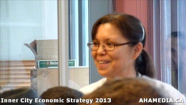 77 AHA MEDIA at INNER CITY Economic Strategy 2013 in Vancouver DTES