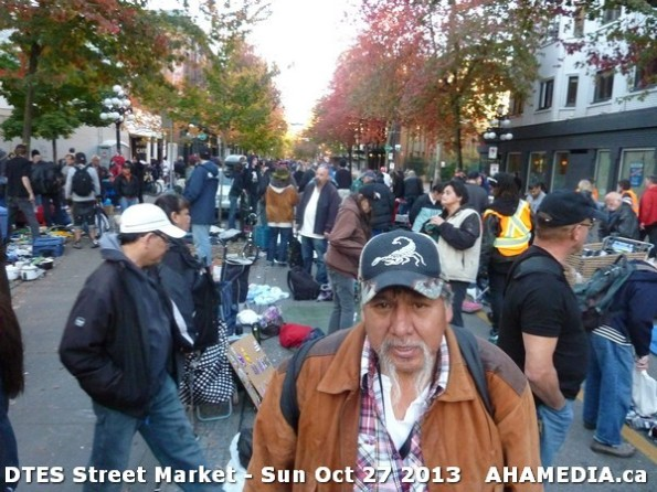 10 AHA MEDIA at  DTES Street Market on Sun Oct 27 2013
