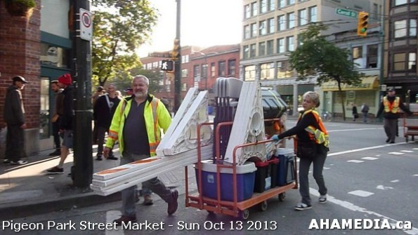 101 AHA MEDIA at Pigeon Park Street Market - Suct 13 2013 in Vancouver DTES