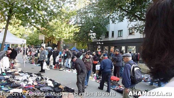 104 AHA MEDIA at Pigeon Park Street Market - Suct 13 2013 in Vancouver DTES