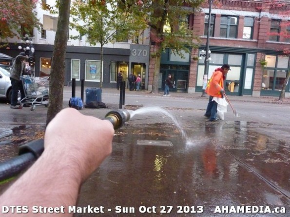 119 AHA MEDIA at  DTES Street Market on Sun Oct 27 2013