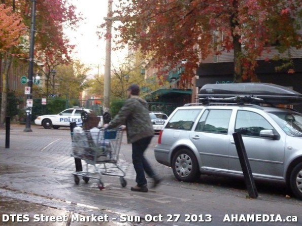 120 AHA MEDIA at  DTES Street Market on Sun Oct 27 2013