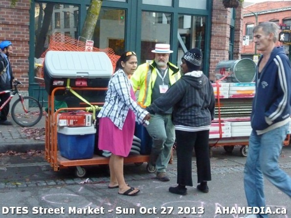 13 AHA MEDIA at  DTES Street Market on Sun Oct 27 2013