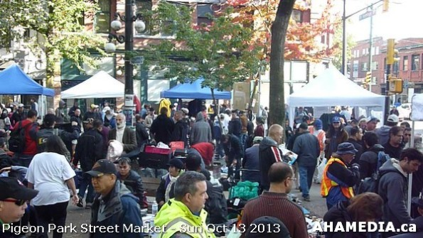 142 AHA MEDIA at Pigeon Park Street Market - Suct 13 2013 in Vancouver DTES