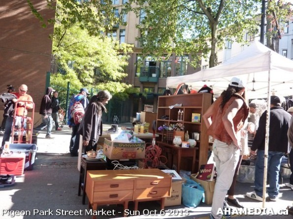 197 AHA MEDIA at Pigeon Park Street Market Sun Sept 29 2013 in Vancouver DTES