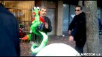 2 AHA MEDIA sees Roland Clarke with Pat and their encounter with Stuffed Green Snake in Vancouver DTE