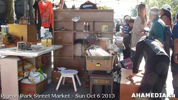 201 AHA MEDIA at Pigeon Park Street Market Sun Sept 29 2013 in Vancouver DTES