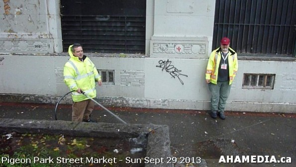 202 AHA MEDIA at Pigeon Park Street Market Sun Sept 29 2013 in Vancouver DTES