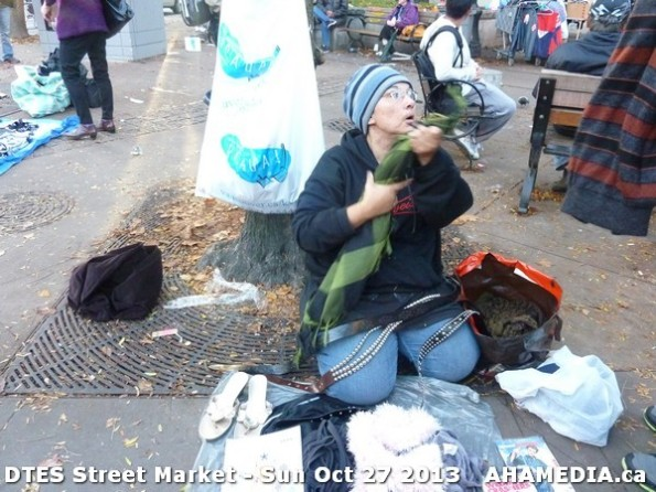 21 AHA MEDIA at  DTES Street Market on Sun Oct 27 2013