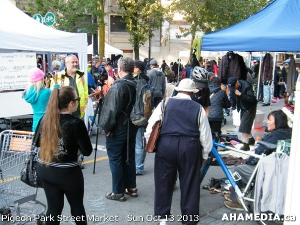 222 AHA MEDIA at Pigeon Park Street Market - Suct 13 2013 in Vancouver DTES