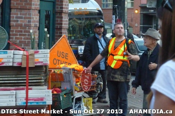 23 AHA MEDIA at  DTES Street Market on Sun Oct 27 2013
